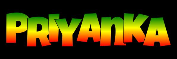 Priyanka mango logo