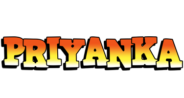 Priyanka sunset logo