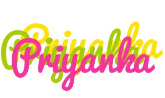Priyanka sweets logo