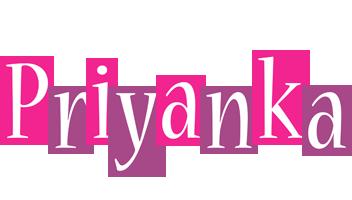 Priyanka whine logo
