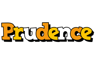 Prudence cartoon logo