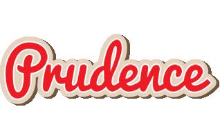 Prudence chocolate logo