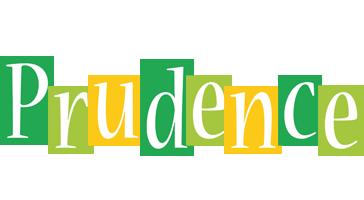 Prudence lemonade logo