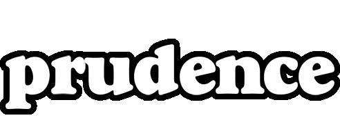 Prudence panda logo