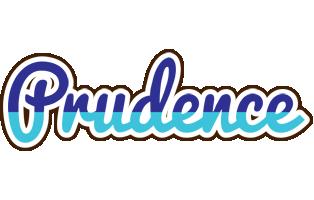 Prudence raining logo