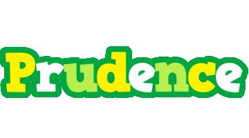 Prudence soccer logo