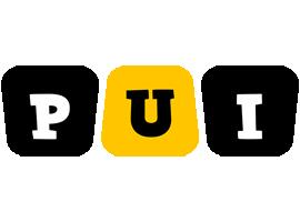 Pui boots logo