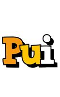 Pui cartoon logo