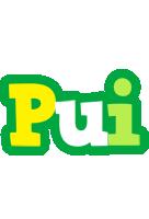 Pui soccer logo