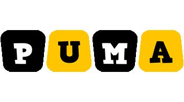 Puma boots logo