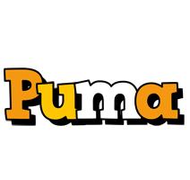 Puma cartoon logo