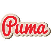 Puma chocolate logo