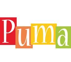Puma colors logo