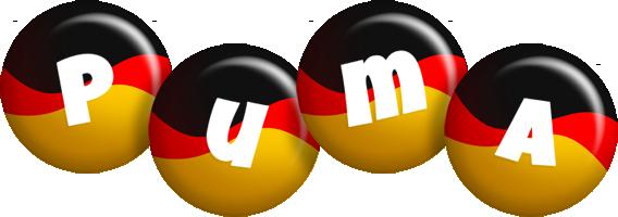 Puma german logo