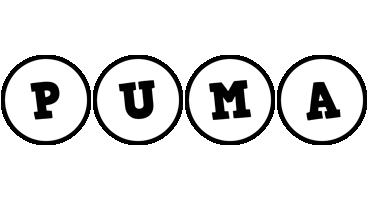 Puma handy logo