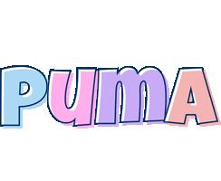 Puma pastel logo