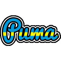 Puma sweden logo