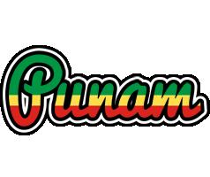 Punam african logo