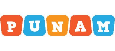 Punam comics logo