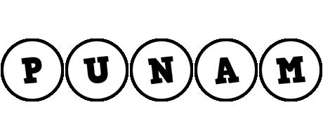 Punam handy logo