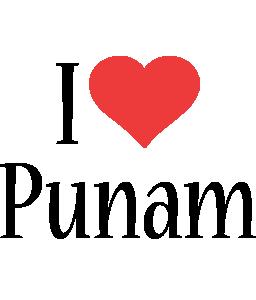 Punam i-love logo