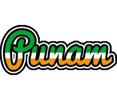 Punam ireland logo