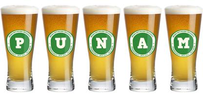 Punam lager logo