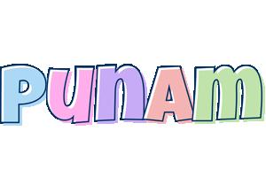 Punam pastel logo