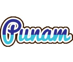 Punam raining logo