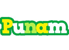 Punam soccer logo