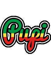Pupi african logo