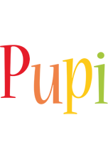 Pupi birthday logo