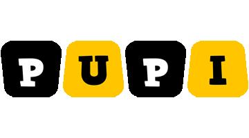 Pupi boots logo