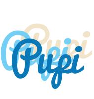 Pupi breeze logo