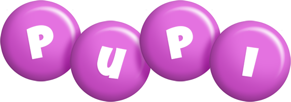 Pupi candy-purple logo