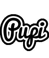 Pupi chess logo