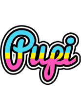 Pupi circus logo