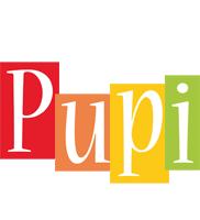Pupi colors logo