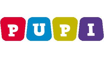 Pupi daycare logo