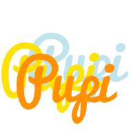 Pupi energy logo