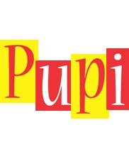Pupi errors logo