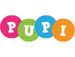 Pupi friends logo