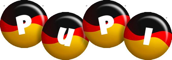 Pupi german logo