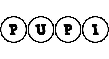 Pupi handy logo