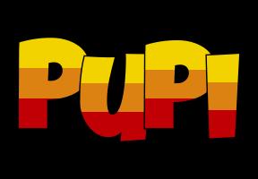 Pupi jungle logo