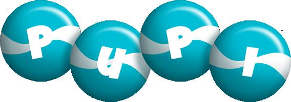 Pupi messi logo