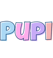 Pupi pastel logo