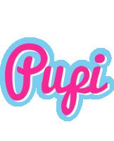 Pupi popstar logo