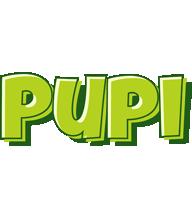 Pupi summer logo