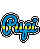 Pupi sweden logo
